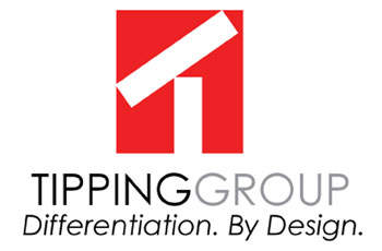 Tipping Group Logo: Advertising and Design Studio in Dallas, TX