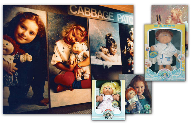 Created a unique and custom product branding campaign for the Cabbage Patch Kids line.