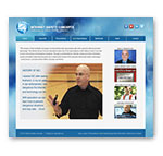 Tipping Group portfolio piece of the Internet Safety Concepts custom website design.