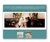 Tipping Group portfolio piece of the Dallas Woman's Forum custom website.